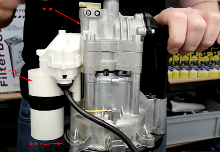 Condensateur de nettoyeur haute pression Karcher