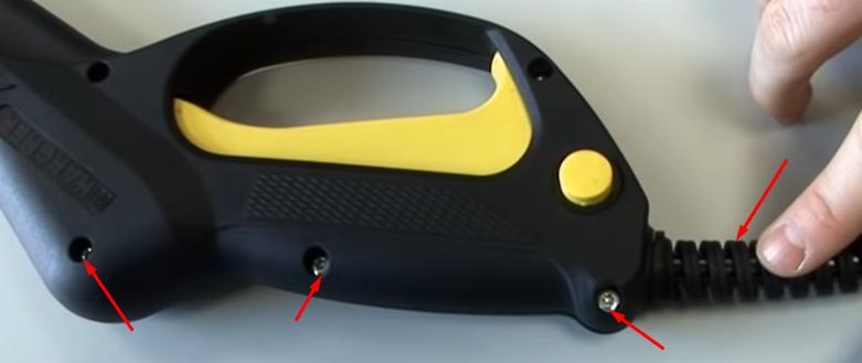 types de connexions flexible et pistolet Karcher - L'ensemble poignée-flexible