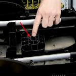 Condensateur de nettoyeur haute pression Karcher - Trou de montage